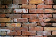 παλαιός κόκκινος τοίχος σύστασης λεπτομέρειας τούβλου ανασκόπησης αρχιτεκτονικής Στοκ φωτογραφία με δικαίωμα ελεύθερης χρήσης