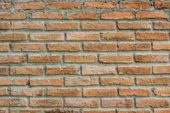 παλαιός κόκκινος τοίχος σύστασης λεπτομέρειας τούβλου ανασκόπησης αρχιτεκτονικής Στοκ Εικόνα