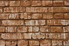 παλαιός κόκκινος τοίχος τούβλου Στοκ εικόνα με δικαίωμα ελεύθερης χρήσης
