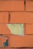 παλαιός κόκκινος τοίχος τούβλου Στοκ Φωτογραφίες