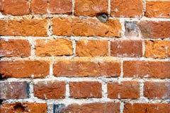 παλαιός κόκκινος τοίχος Στοκ Εικόνες