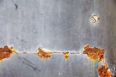 Παλαιός μαύρος και κίτρινος τοίχος μετάλλων Στοκ φωτογραφία με δικαίωμα ελεύθερης χρήσης