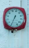 Παλαιός μετρητής πίεσης αέρα Στοκ Φωτογραφίες