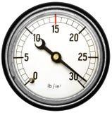 Παλαιός μετρητής πίεσης στοκ φωτογραφία με δικαίωμα ελεύθερης χρήσης