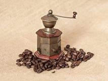 Παλαιός μύλος καφέ Στοκ Εικόνα