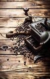 Παλαιός μύλος καφέ Στοκ Φωτογραφίες