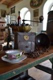 Παλαιός μύλος καφέ Στοκ εικόνες με δικαίωμα ελεύθερης χρήσης