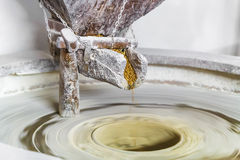 Παλαιός μύλος πετρών Στοκ Εικόνα
