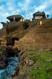 Παλαιός ναός μερών Tanah. Στοκ φωτογραφία με δικαίωμα ελεύθερης χρήσης