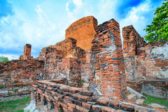 Παλαιός ναός στην Ταϊλάνδη Στοκ εικόνες με δικαίωμα ελεύθερης χρήσης