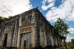 Παλαιός ναός το Νοέμβριο του 2015 της Πνομ Πενχ Καμπότζη επαρχιών Στοκ φωτογραφία με δικαίωμα ελεύθερης χρήσης