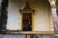 Παλαιός ναός το Νοέμβριο του 2015 της Πνομ Πενχ Καμπότζη επαρχιών Στοκ Εικόνες