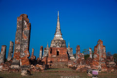 Παλαιός ναός, Si Sanphet Wat Phra Στοκ εικόνα με δικαίωμα ελεύθερης χρήσης