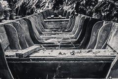 παλαιός ξύλινος βαρκών Στοκ Εικόνες