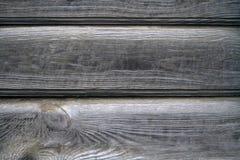 Παλαιός ξύλινος γκρίζος τοίχος Στοκ φωτογραφία με δικαίωμα ελεύθερης χρήσης