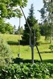 Παλαιός, ξύλινος καλά Στοκ Εικόνες