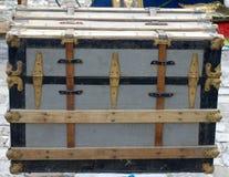 παλαιός ξύλινος κιβωτίων στοκ φωτογραφία