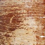 Παλαιός ξύλινος πίνακας με τις βίδες αφηρημένο τετράγωνο ανασκόπησης Στοκ Εικόνες