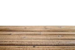 Παλαιός ξύλινος πίνακας που απομονώνεται στο άσπρο υπόβαθρο Στοκ Εικόνες