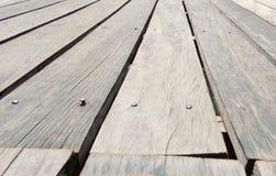 παλαιός ξύλινος πατωμάτων Στοκ φωτογραφία με δικαίωμα ελεύθερης χρήσης