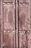 παλαιός ξύλινος πορτών Στοκ εικόνα με δικαίωμα ελεύθερης χρήσης
