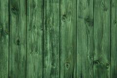 Παλαιός ξύλινος πράσινος πίνακας για ένα υπόβαθρο Στοκ Φωτογραφία