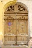 παλαιός ξύλινος πυλών στοκ εικόνες