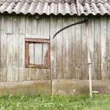 παλαιός ξύλινος σιταποθηκών Στοκ εικόνες με δικαίωμα ελεύθερης χρήσης