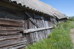 παλαιός ξύλινος σιταποθηκών Στοκ Εικόνα