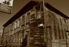 παλαιός ξύλινος σπιτιών Στοκ Εικόνα