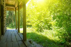 παλαιός ξύλινος σπιτιών Στοκ Φωτογραφίες