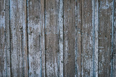 Παλαιός ξύλινος φράκτης με το μπλε shabby χρώμα Στοκ φωτογραφία με δικαίωμα ελεύθερης χρήσης