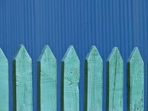 Παλαιός ξύλινος φράκτης, υπόβαθρο Στοκ Φωτογραφία