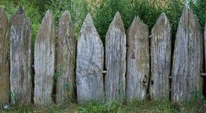 παλαιός ξύλινος φραγών Στοκ εικόνες με δικαίωμα ελεύθερης χρήσης