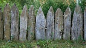 παλαιός ξύλινος φραγών Στοκ Εικόνα