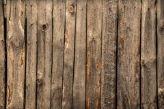 παλαιός ξύλινος φραγών Στοκ Εικόνες