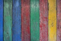 Παλαιός ξύλινος χρώματος επιφάνειας για το υπόβαθρο Στοκ Εικόνες