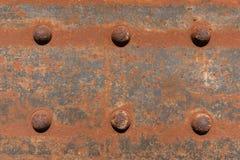 Παλαιός οξυδωμένος χάλυβας - σκουριασμένη σύσταση μετάλλων/σύσταση σκουριάς Στοκ Εικόνες