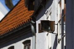 Παλαιός οδικός καθρέφτης Στοκ φωτογραφία με δικαίωμα ελεύθερης χρήσης