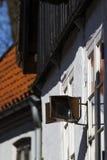 Παλαιός οδικός καθρέφτης Στοκ εικόνα με δικαίωμα ελεύθερης χρήσης