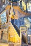 Παλαιός ο minbar Στοκ Εικόνα