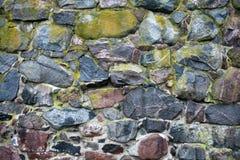 Παλαιός πέτρινος τοίχος Στοκ φωτογραφία με δικαίωμα ελεύθερης χρήσης