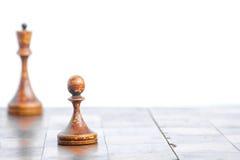 Παλαιός πίνακας σκακιού στοκ εικόνα με δικαίωμα ελεύθερης χρήσης