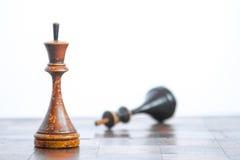 Παλαιός πίνακας σκακιού στοκ εικόνες με δικαίωμα ελεύθερης χρήσης