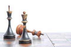 Παλαιός πίνακας σκακιού στοκ φωτογραφίες