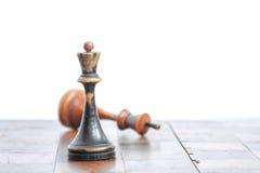 Παλαιός πίνακας σκακιού στοκ εικόνα