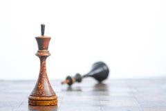 Παλαιός πίνακας σκακιού στοκ εικόνες