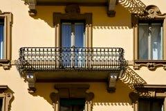 Παλαιός    πεζούλι   κέντρο   από την πόλη Λουγκάνο Ελβετία Swis Στοκ Φωτογραφίες