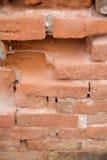 Παλαιός πορτοκαλής τοίχος φραγμών στοκ εικόνες