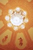 Παλαιός πολυέλαιος πολυτέλειας Στοκ Εικόνα